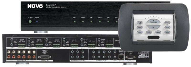 nuvo essentia bticino 6 source 6 zone audio distribution system nuvo essentia expander
