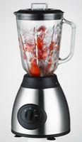 Stainless steel blender with 1.25L glass jar 1.5 plastic jar 300-500W Multifunction(2 in 1): blending,ice crushing
