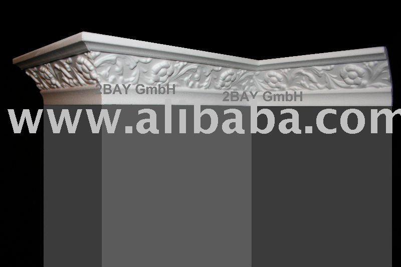 Plafond moulage corniche polystyr ne autres d cors maison for Corniche plafond polystyrene