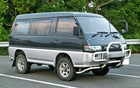 MITSUBISHI DELICA VAN FOR SALE P225,000.00 OR NEGOTIABLE, AUTOMATIC TRANSMISSION FRESH INSIDE AND OUT GREY IN COLOR