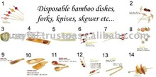 Wholesale Bamboo F&B Accessories Cookware Set