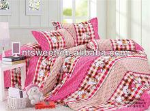 100% polyester bedding set/cute design/vision enjoyment/exporter