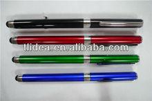 plastic retractanle stylus roller ball pens