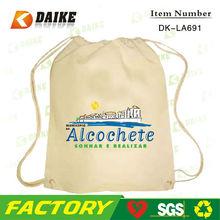Recycled Cotton basketball drawstring backpack DK-LA691