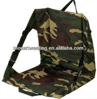 Portable Camo Stadium Bleacher Cushion Chair, Padded Sport Folding stadium seat cushion