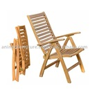 Teak Outdoor Furniture - Rinjani Reclining 5 Positions