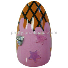 Stiletto Nail Tips Photo Design Finger Nail Art for Sale