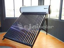 Pressurized High Efficiency Heat Pipe Vacuum Tubes Solar Water Heaters