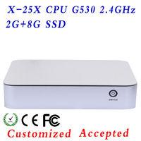 MXCY X-25X ulti COM RS232 Ports PC,micro atx mainboard Mini Computer Intel atom G530 Desktop Board