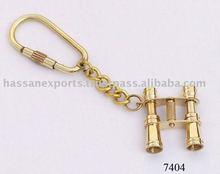 Nautical Brass Binocular Key Chain, nautical gift