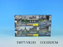 3D 1:87 military tank model diecast car