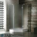 excellente qualité sandblasted pour porte de douche en verre