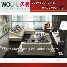 2012 latest design leather sofa furniture , home theater sofa diwan sofa sets WQ6828