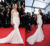 LEV-009 The 66th Annual Cannes Film Festival Red Carpet Zhang Yuqi Strapless Mermaid Evening Dress