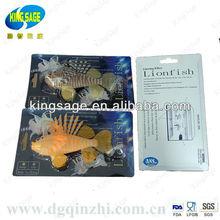 silicone pet fish for aquarium