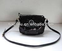 Vintage Korea New Style Trendy PU Leather Handbag 2013 Wholesale China Women Purses Wholesale Casual shoulder Bags Manufacturer