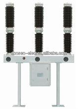 Outdoor SF6 circuit breaker, 72.5kv, 126kv, 145kv, LW36-145 type