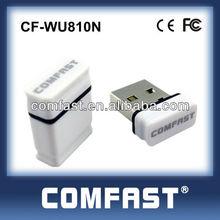 Wireless USB Adapter Wifi Network USB Card PCI Mini USB Adapter COMFAST CF-WU810N