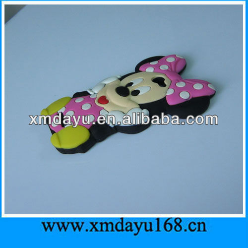 cute Minnie Design Cellular Phone Covers For Apple iphone 5