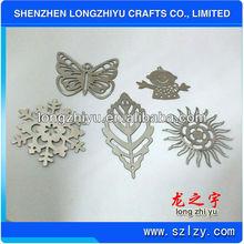 2012 Hottest heart shape metal paper clip bookmark