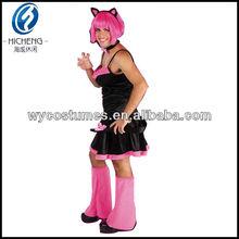 2015 caliente de la venta del traje de catwoman, Cosplay catwoman JA005