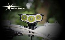 Solarstorm X3 bright led bike light mounts led mini type