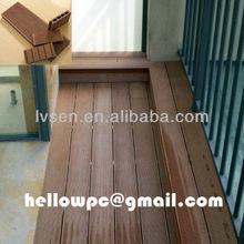 Wood Plastic Composite patio floor coverings