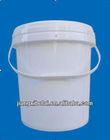 plastic bucket, water pail, bucket