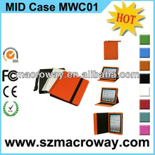 2013 For iPad leather case for 7inch tablet