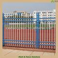 Puertas de acero y diseño de la cerca( sgs certificado de fábrica)