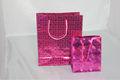 Walmart proveedor/tienda walmart/walmart tema barato láser rojo de papel bolsas de regalo