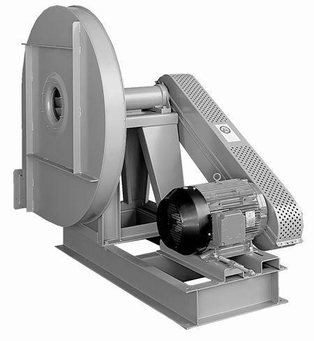 Alta presión ventilador centrífugo