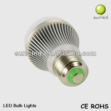 E14/E26/E27 /B22 led lighting bulb high brightness warm white e27 5x1w led bulb lamp