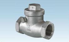 standard swing check valve ,thread full flow