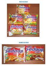 Indonesia Mie Sedaap Sachet Packaging Instant Noodles