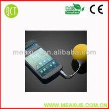 Hot Yellow Mini Music Balloon Speaker, Mini USB Travel Speaker Subwoofer For iPhone 5 4s Samsung i9300 i9500 Laptop Notebook