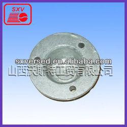 CNC mechining metal parts/cnc cast iron cookware lathe turning part JX-52