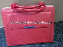 Elegant handbag PU leather case for Ipad mini