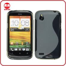 High Quality S line Design Gummy Gel Soft TPU Case for HTC One X