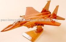 F-15d Eagle Desktop Display Wooden Models toy