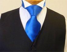 Colour 13 Royal / Electric Blue Satin Necktie