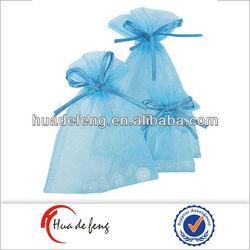 Candy drawstring bags organza mini tote bag