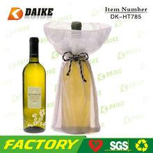 Producers Wholesale Organza Wine Bottle Tote Bags DK-HT785