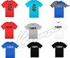 Novel dot graphic print t-shirts