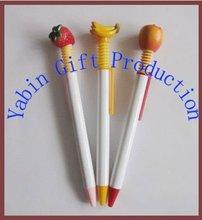 2013 Cheap Fruit Shape Plastic Ball Pens With Any Logo