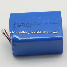 6.4V 4500Ah Lithium iron Phosphate Rechargeable Batteries For E-Bike Light RoHS/CE/UL safety