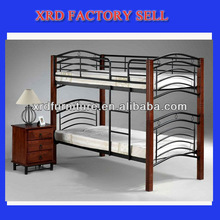 Very strong wrought iron bunk bed wood post