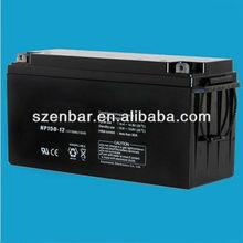AGM lead acid battery 12v 150Ah dry batteries for UPS
