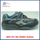 navy blue sport summer boy hiking shoes outdoor