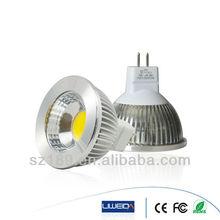 High Brightness 3000K/4000K/6000K Color Temperature 5W LED Light Mini Spot Mr16 12V